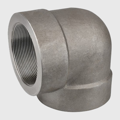 Carbon Steel Forged Threaded 90D Elbow