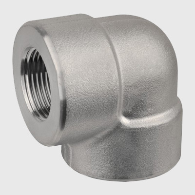 Duplex Steel Forged Threaded 90D Elbow