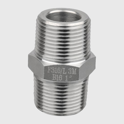 Duplex Steel Hex Nipple