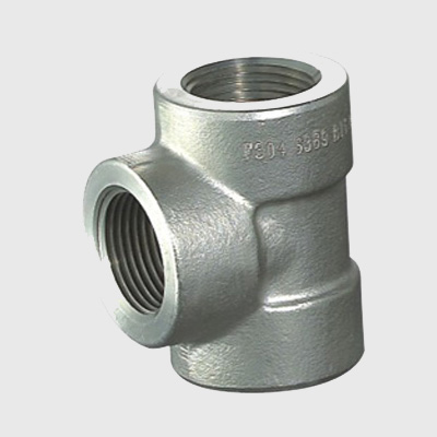 Duplex Steel Forged Threaded Tee