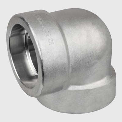 Stainless Steel socket weld 90D Elbow